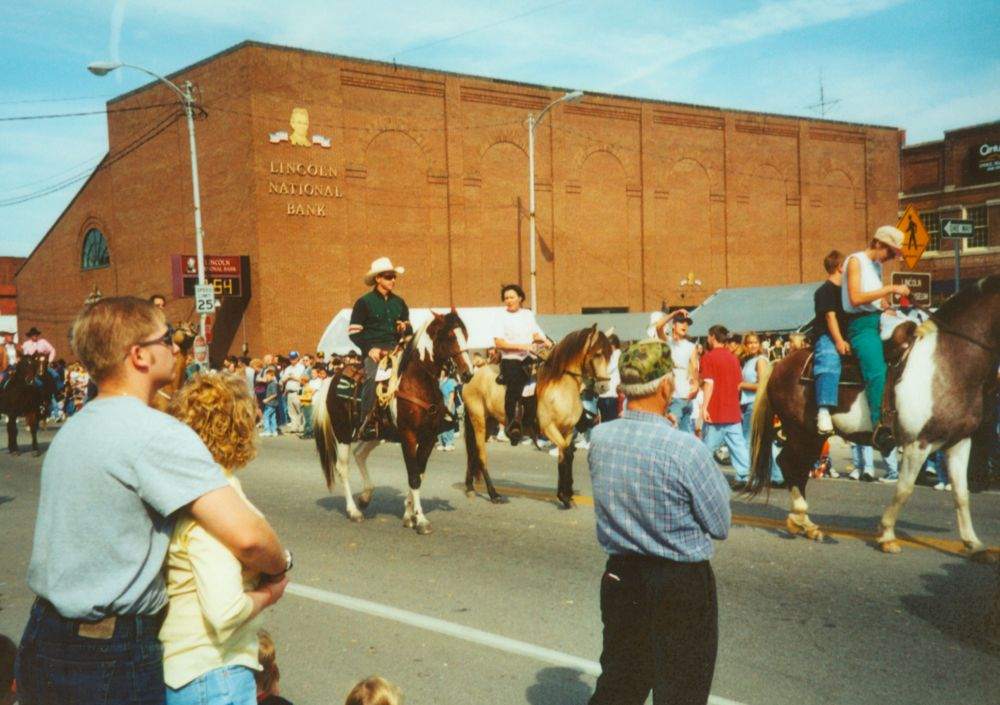 Horses on the Square