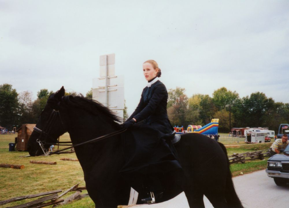 Young Lady on a Horse