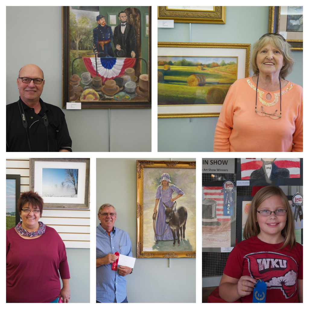 2015 - Lincoln Days Art Show Winners